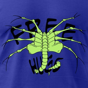 face hugger free hug - Men's T-Shirt by American Apparel
