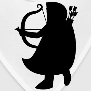 man with a bow and arrow solid Robin Hood ARCHER Accessories - Bandana