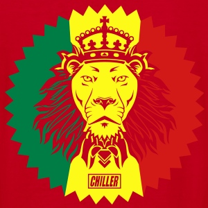 Chiller Rasta Lion Zip Hoodies/Jackets - Women's V-Neck T-Shirt