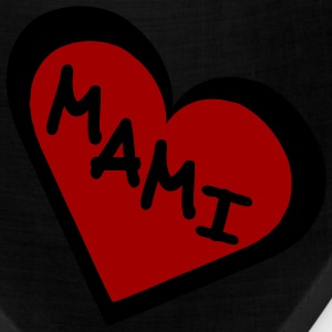 Black Mami in 2-Color Heart Men - Bandana