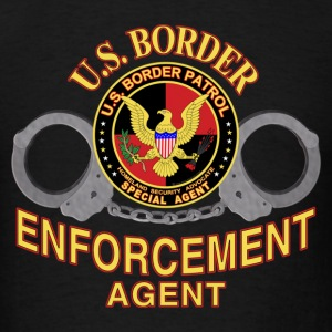 U.S. Border Enforcement Agent - Men's T-Shirt