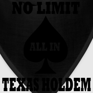 Red Poker - Texas Holdem - All in Men - Bandana