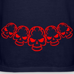 Ash  Fury Skull X5 Zippered Jackets - Men's T-Shirt