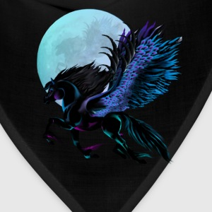 Black Pegasus and Blue Moon - Bandana
