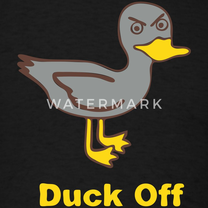 Black Duck Off T-Shirts - Men's T-Shirt