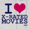 Ash  i love xmovies by wam Hoodies - Men's Hoodie