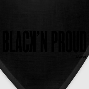 Black black and proud by wam Kids Shirts - Bandana