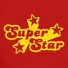 Red Superstar Women's T-shirts - Women's T-Shirt