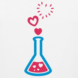 Love Potion - Bursting Heart Bubbles - T Shirt - Womens - Men's Premium Tank