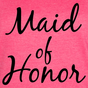 Maid of Honor Tank Top - Women's Vintage Sport T-Shirt