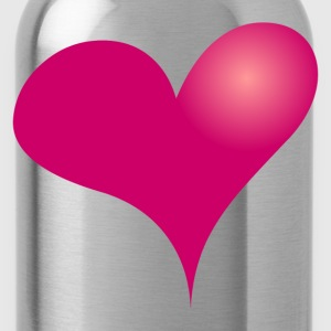 Heart - Cœur - Water Bottle