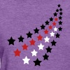 Deep heather Milkyway USA Women's T-Shirts - Women's T-Shirt