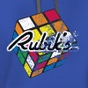 Rubik's Cube Distressed and Faded - Contrast Hoodie