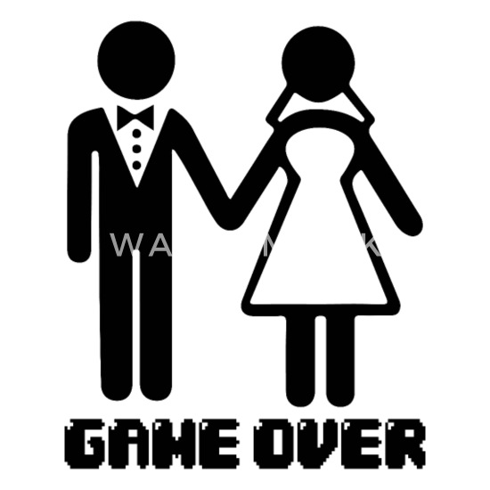 fa4d657db5 Game Over After Marriage Funny Wedding Gaming iPhone 7 & 8 Case ...