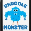 Snuggle Monster (Blue) - iPhone 6/6s Rubber Case