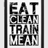 Eat Clean, Train Mean - iPhone 6/6s Rubber Case
