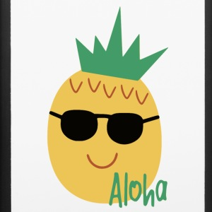 aloha pineapple with sunglasses - iPhone 6/6s Rubber Case