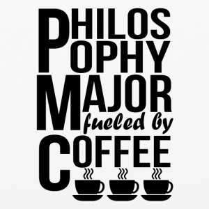 Philosophy Major Fueled By Coffee - iPhone 6/6s Rubber Case