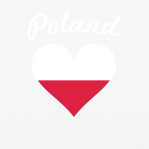 Poland Flag Heart - iPhone 6/6s Rubber Case