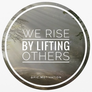 rise by lifting others - iPhone 6/6s Rubber Case