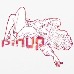 laying_pinup_girl_with_sigarette - iPhone 6/6s Rubber Case