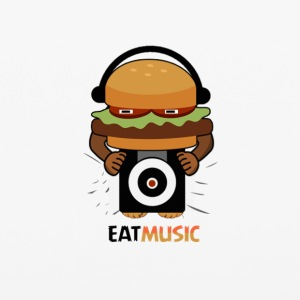 EAT MUSIC - iPhone 6/6s Rubber Case
