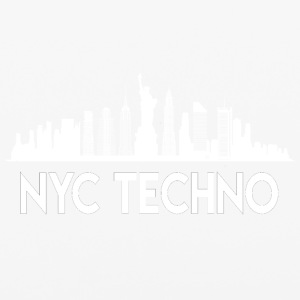 NYC Techno Skyline - iPhone 6/6s Rubber Case