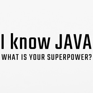 I know JAVA - what is your superpower - iPhone 6/6s Rubber Case