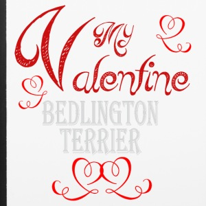A romantic Valentine with my Bedlington Terrier - iPhone 6/6s Rubber Case