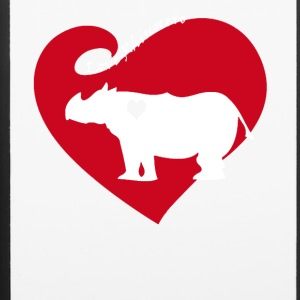 Love Rhinocero Tee Shirt - iPhone 6/6s Rubber Case