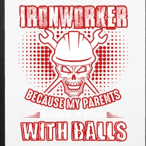 Ironworker A Man With Balls Shirt - iPhone 6/6s Rubber Case