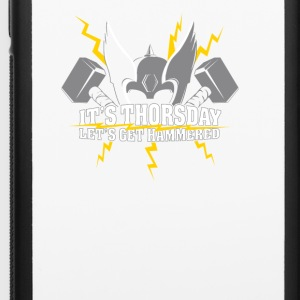 It s Thorsday Let s Get Hammered - iPhone 6/6s Rubber Case