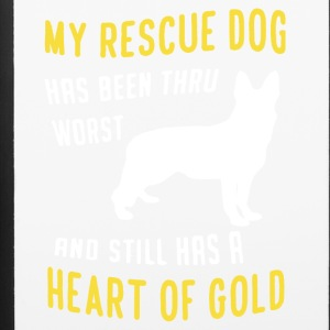 My Rescue Dog Shirt - iPhone 6/6s Rubber Case