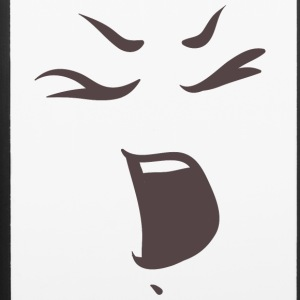 Shouting face - Emotional faces - iPhone 6/6s Rubber Case