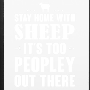 Stay home with Sheep - iPhone 6/6s Rubber Case