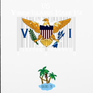 Us Virgin Islands Made Me - iPhone 6/6s Rubber Case