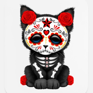 Red Sugar Skull Kitten