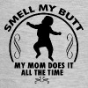 Smell my butt Mom - black - Baby Contrast One Piece
