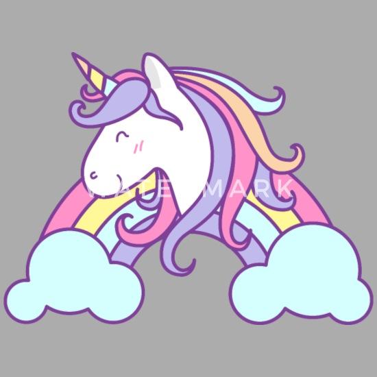 29507e265c9e0 Unicorn head fairy tale kids picture vector image Contrast Baby ...