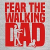 fear the walking dad - Baby Contrast One Piece