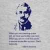 Einstein Quote - Baby Contrast One Piece