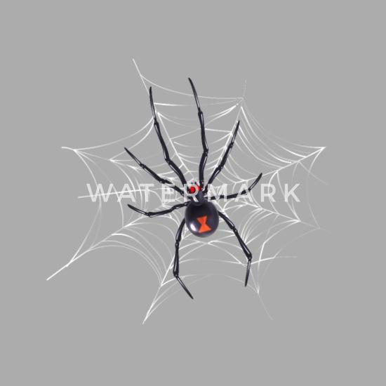 Halloween Shirts For Women Black Widow Spider Web Baseball