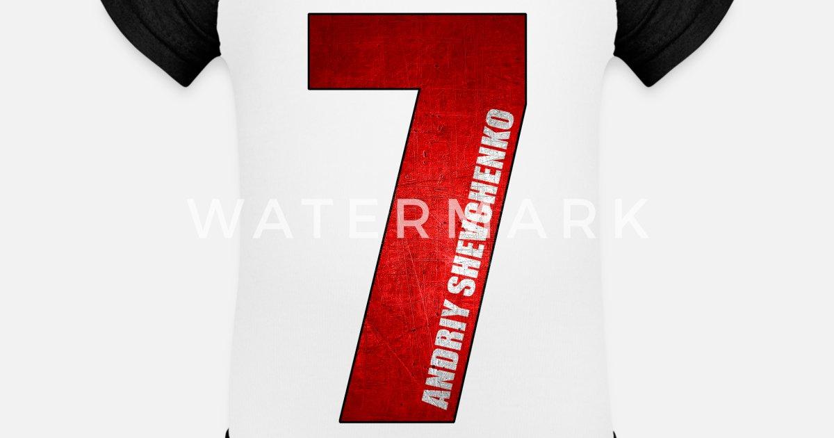 Shevchenko Football Legend Ac Milan Rossoneri Baseball Baby Bodysuit Spreadshirt