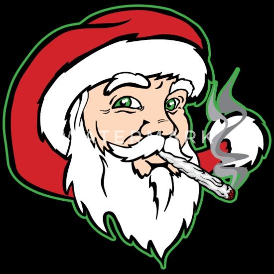 Santa Claus Smoking Weed Trucker Cap Spreadshirt
