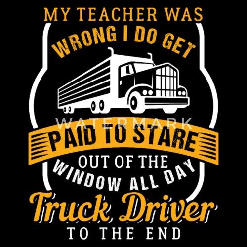 Truck Driver Birthday Gift