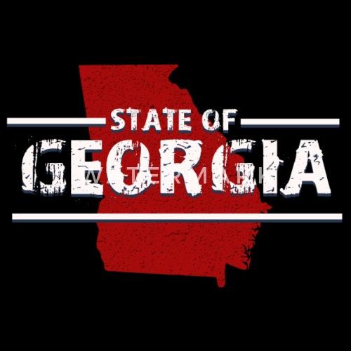 State Of Georgia Ga Atlanta Augusta Columbus Macon Trucker Cap