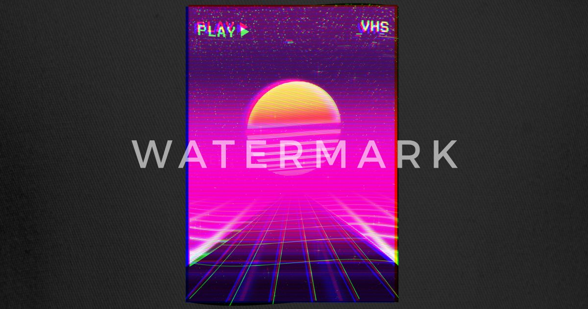 80s Neon Grid Sunset Vaporwave Synthwave Outrun Trucker Cap | Spreadshirt