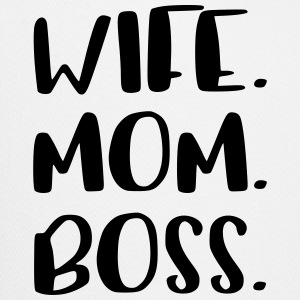 Wife Mom Boss Design - Trucker Cap