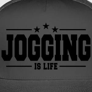Jogging is life 1 - Trucker Cap