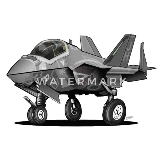 F-35 Lightning II American Airpower Men`s Dark T-Shirt